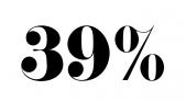 39 % rabatt Carat